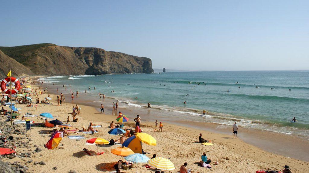 Arrifana beach Algarve Portugal