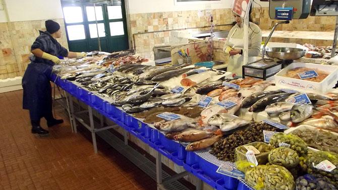 Fresh local produce Arrifana Portugal
